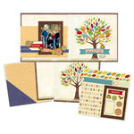 Deja Views - C-Thru - Little Yellow Bicycle - Hello Fall Collection - 12 x 12 Page Kit - Family Tree