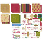 Deja Views - C-Thru - Sharon Ann Collection - Paper Packs  - Holiday Palette