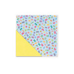 Deja Views - C-Thru - Little Yellow Bicycle - Hello Spring Collection - 12 x 12 Double Sided Textured Paper - Flutterby