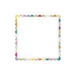 Deja Views - C-Thru - Little Yellow Bicycle - Hello Spring Collection - 12 x 12 Decorative Edge Textured Paper