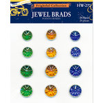 Deja Views - C-Thru - Little Yellow Bicycle - Frightful Collection - Halloween - Jewel Brads, CLEARANCE