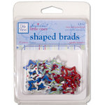Deja Views - Sharon Ann Little Ones Collection - Boy - Shaped Brads - Stars