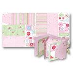 Deja Views - Sharon Ann Little Ones Collection - Girl - 12x24 Project Sheet - Gatefold Album, CLEARANCE