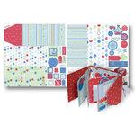 Deja Views - Sharon Ann Little Ones Collection - Boy - 12x24 Project Sheet - Gatefold Album
