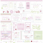 Deja Views - Sharon Ann Little Ones Collection - Girl - Vellum - Fresh Verse, CLEARANCE