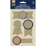 Naturals Collection - Burlap Stickers - Ribbons by Little Yellow Bicycle