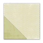 Deja Views - C-Thru - Little Yellow Bicycle - Paradise Collection - 12 x 12 Double Sided Textured Paper - All Natural Leaves