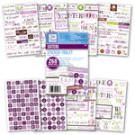 Deja Views - Sticker Tablet - 268 Adhesive Pieces - Sisters, CLEARANCE