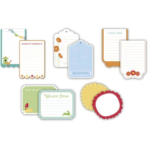Little Yellow Bicycle - Poppy Collection - Journaling Cards