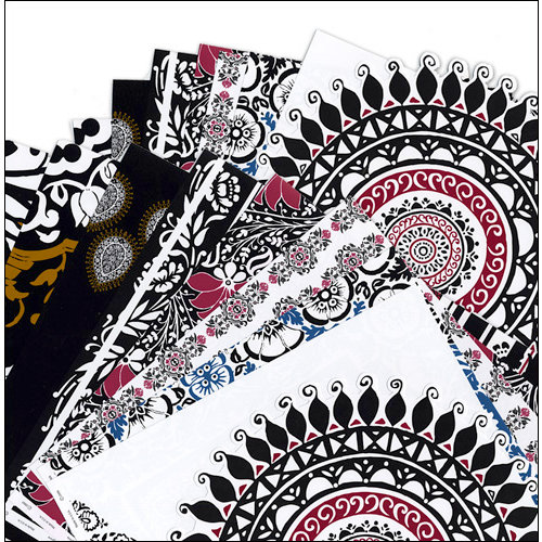 Deja Views - C-Thru - Color POP Collection - 12 x 12 Paper Pack, BRAND NEW