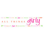Deja Views - Wonderful Words - Rub On Transfers - Girly, CLEARANCE