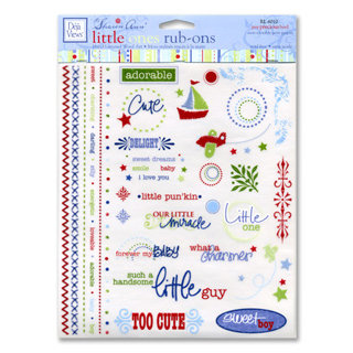 Deja Views - Sharon Ann Little Ones Collection - Boy - Rub Ons, CLEARANCE