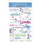 Deja Views - Wonderful Words Rub Ons - Fresh Print - Cherry - See The Wonder, CLEARANCE