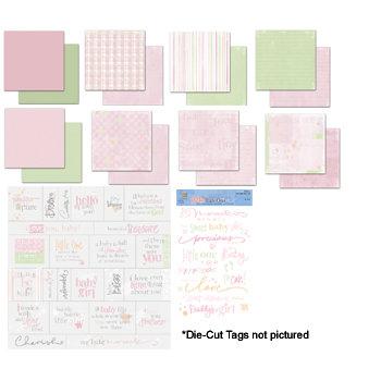Deja Views - C-Thru - Sharon Ann Collection - Paper Packs  - Baby Girl