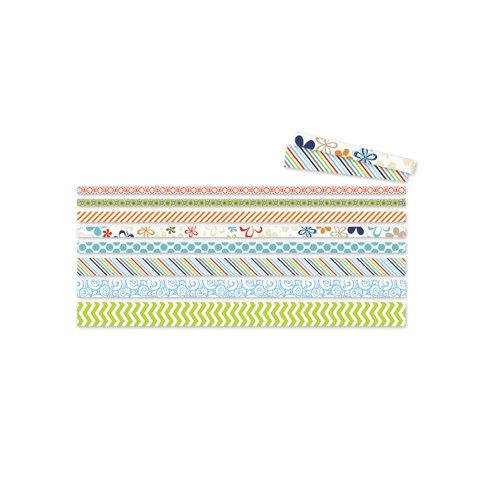 Deja Views - C-Thru - Little Yellow Bicycle - Splash Collection - Vellum Tape Strips