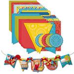 Deja Views - C-Thru - Little Yellow Bicycle - Sweet Summertime Collection - Banner Album Cardstock Kit