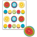 Deja Views - C-Thru - Little Yellow Bicycle - Sweet Summertime Collection - Dimensional Stickers
