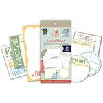 Deja Views - C-Thru - Little Yellow Bicycle - Savor Collection - Journal Tablet