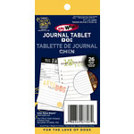 Deja Views - C-Thru - Little Yellow Bicycle - Say What Collection - Journal Tablet - Dog, CLEARANCE