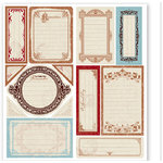Deja Views - Timeless Collection - Self-Adhesive Cardstock Journaling Pieces