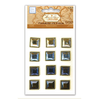 Deja Views - Timeless Collection - Framed Jewels - Blues, CLEARANCE