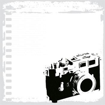 Deja Views - C-Thru - Little Yellow Bicycle - Traveler Collection - 12 x 12 Acetate Overlay - Snapshot