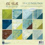 Deja Views - C-Thru - Little Yellow Bicycle - Vita Bella Collection - 12x12 Paper Pack
