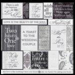 Deja Views - 12x12 Paper - Wedding - Wedding Vellum, CLEARANCE