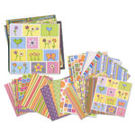 Die Cuts with a View - 12x12 and 8x8 Cardstock Packs - Sherbert and Sprinkles, CLEARANCE
