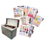 Die Cuts with a View - Recipe Box with Quotes and Sayings and Dividers