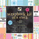 Die Cuts with a View - 12x12 Scrapbook Kit In a Stack - All Occasion