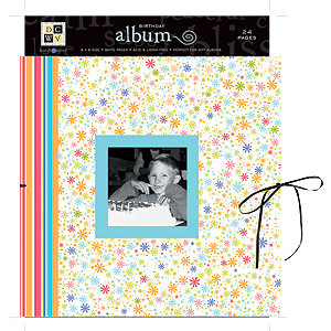 Die Cuts with a View - 8x8 Gift Album - Birthday, CLEARANCE