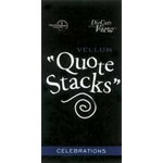 Die Cuts With a View - Vellum Quote Stacks - Celebrations, CLEARANCE