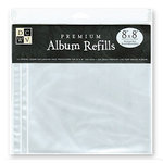 Die Cuts with a View - 8 x 8 Post Album Refills - 10 Pack