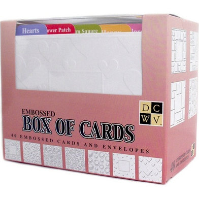Die Cuts with a View - Box of Cards - Embossed Cards and Envelopes - A2 size