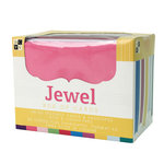 Die Cuts with a View - Box of Cards - Textured Cards and Envelopes - Jewel - A2 Size