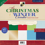 Die Cuts with a View - The Christmas and Winter Combo Collection - Paper Stack - 12 x 12