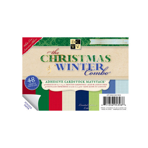 Die Cuts with a View - The Christmas and Winter Combo Collection - 4.5 x 6.5 Adhesive Matstack