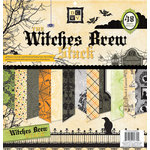 Die Cuts with a View - Witches Brew Collection - Halloween - Foil and Glitter Paper Stack - 12 x 12