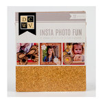 Die Cuts with a View - Insta Photo Fun Collection - Cork Stack - 12 Sheets