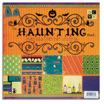 Die Cuts with a View - The Haunting Collection - Halloween - Foil and Glitter Paper Stack - 12 x 12