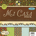 Die Cuts with a View - Mi Casa Collection - Glitter Paper Stack - 12 x 12