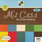 Die Cuts with a View - Mi Casa Collection - Glitter and Metallic Solid Cardstock Stack - 12 x 12, CLEARANCE