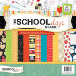 Die Cuts with a View - School Days Collection - 12 x 12 Paper Stack