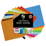 Die Cuts with a View - 12 x 12 Adhesive Cardstock Kit - Brights and Neutrals - 72 Pieces, BRAND NEW