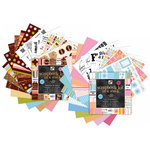 Die Cuts With A View - Two 8x8 Scrapbook Kit in a Stack - All Occasion and Friends and Family