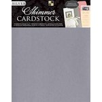 Die Cuts with a View - 8.5 x 11 Shimmer Cardstock Pack - Silver