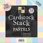 Die Cuts With A View - Pastels Cardstock Stack - 8x8, CLEARANCE