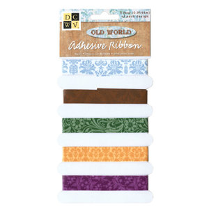 Die Cuts with a View - Self-Adhesive Ribbon - Old World Collection, CLEARANCE