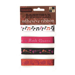 Die Cuts with a View - Rock Star Collection - Self-Adhesive Ribbon - Music - Rock Queen
